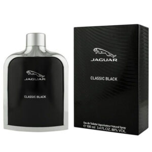 ادوتویلت مردانه جگوار مدل Classic Black حجم ۱۰۰ میلی لیتر