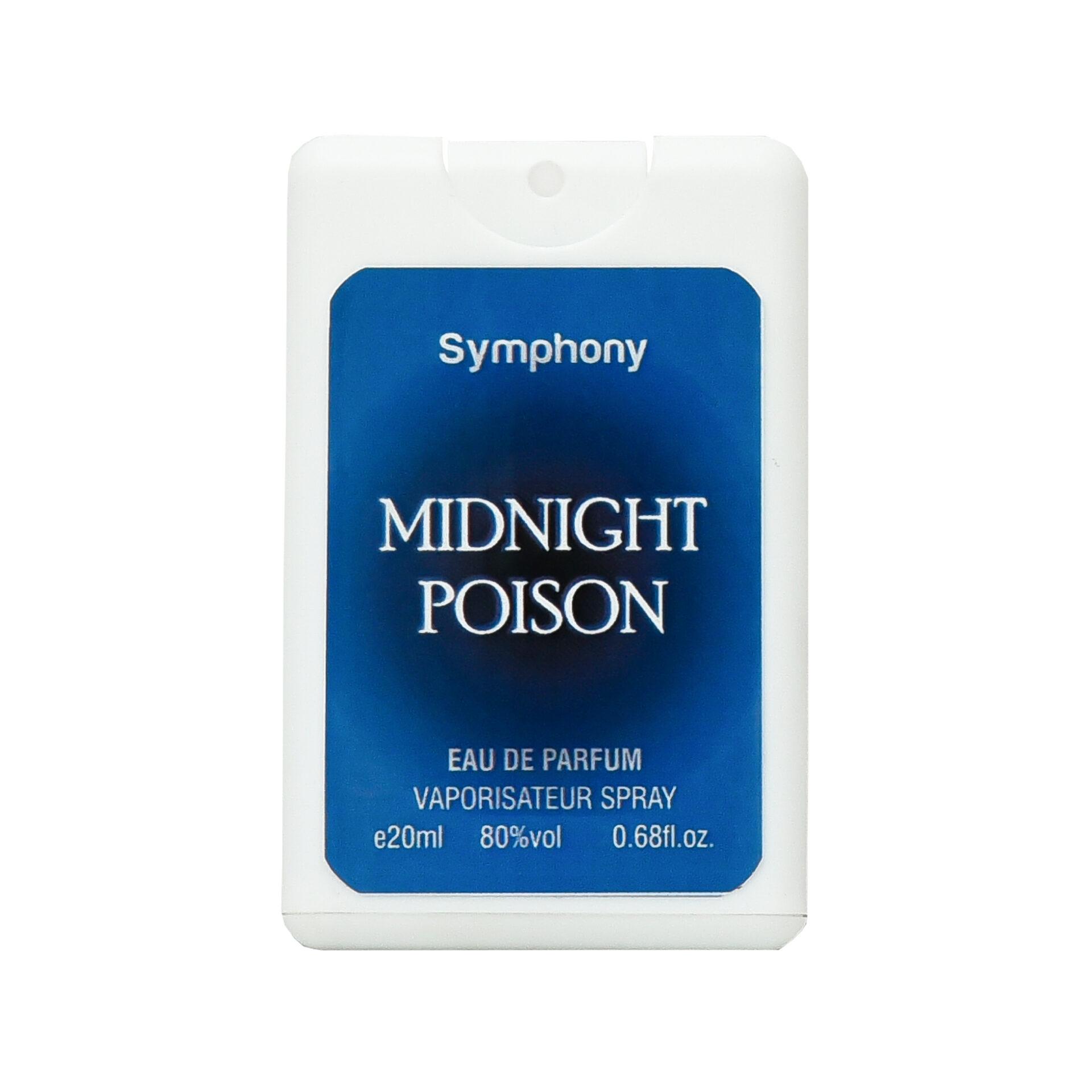 عطر جیبی سیمفونی مدل Midnight Poision حجم 20 میلی لیتر