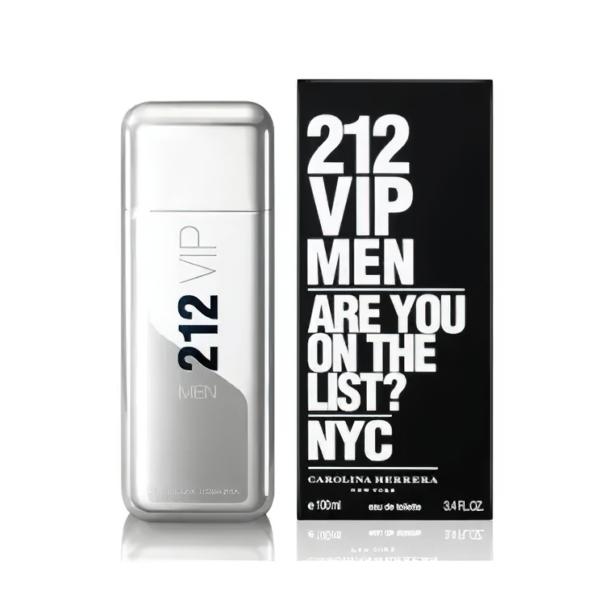 ادو تویلت مردانه کارولینا هررا مدل 212 VIP حجم 100 میلی لیتر