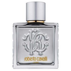 ادو تویلت مردانه روبرتو کاوالی مدل Uomo Silver Essence حجم 100 میلی لیتر