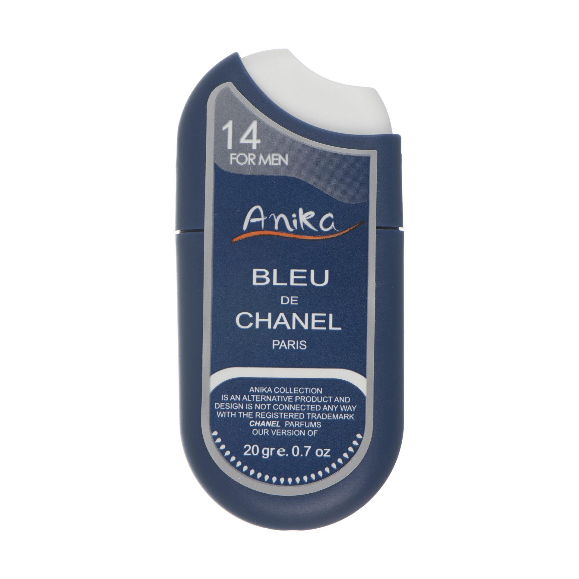 عطر جیبی مردانه آنیکا مدل Bleu De Chanel حجم 20 میلی لیتر