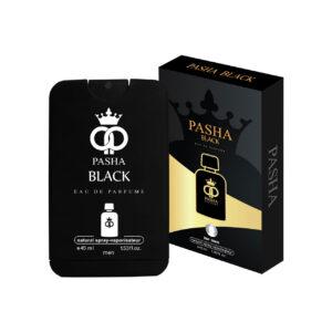 ادو پرفیوم مردانه پاشا مدل pasha black حجم 45 میلی لیتر