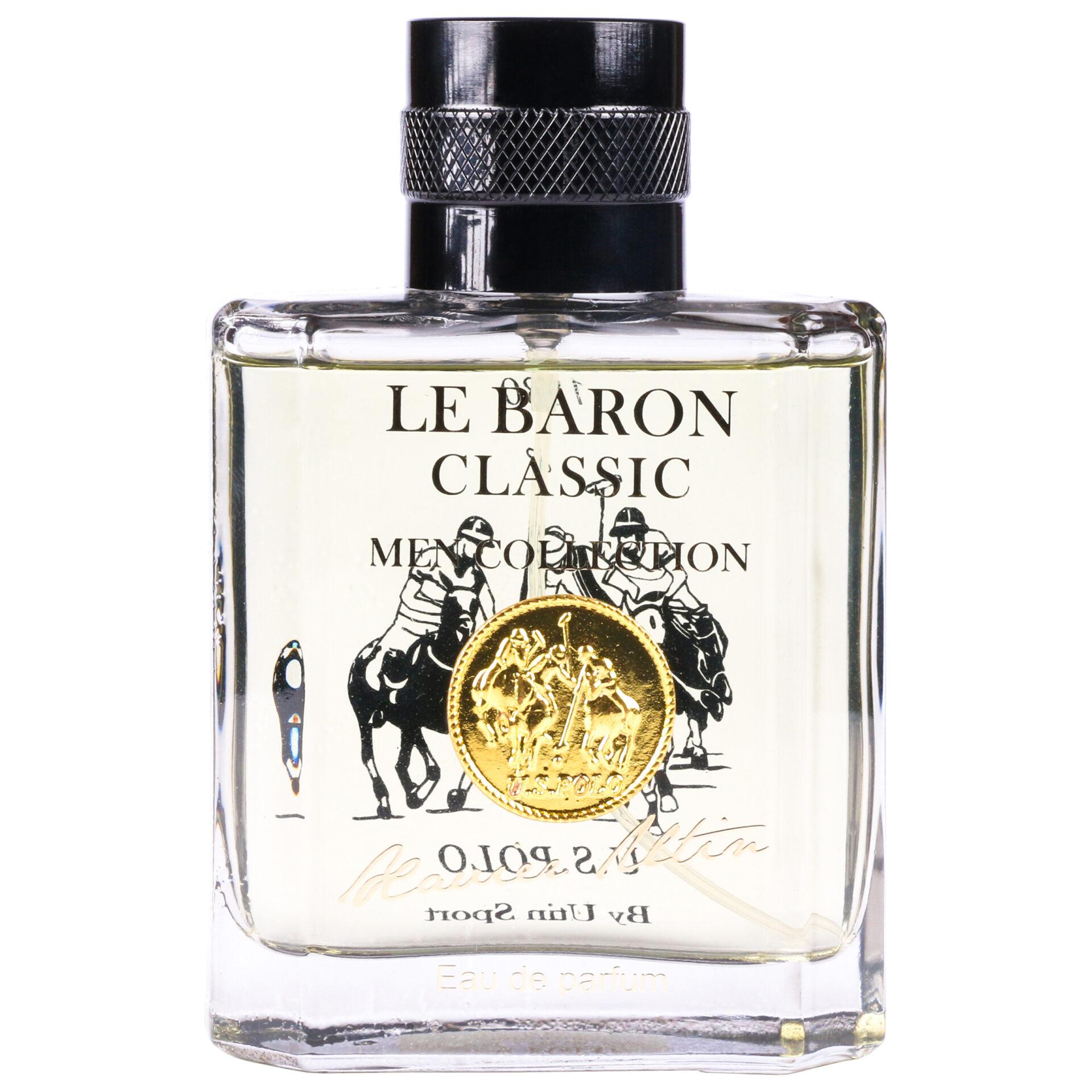ادو پرفیوم مردانه یو اس پولو مدل Le Baron Classic حجم 100 میلی لیتر