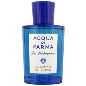 ادو تویلت مردانه آکوا دی پارما سری Blu Mediterraneo مدل Chinotto Di Liguria حجم 150 میلی لیتر