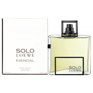 ادو تویلت مردانه لووه مدل Loewe Solo Esencial حجم 100 میلی لیتر
