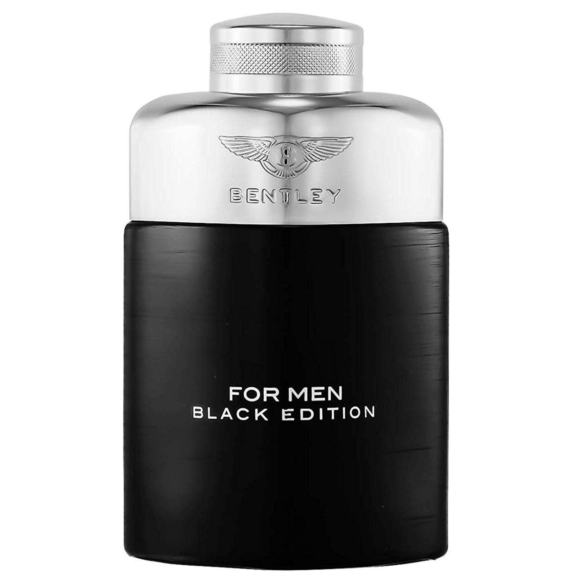 ادو پرفیوم مردانه بنتلی مدل Black Edition حجم 100 میلی لیتر