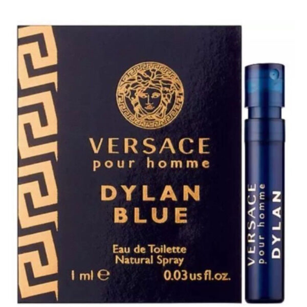 عطر جیبی مردانه ورساچه مدل Pour Homme Dylan Blue حجم 1 میلی لیتر
