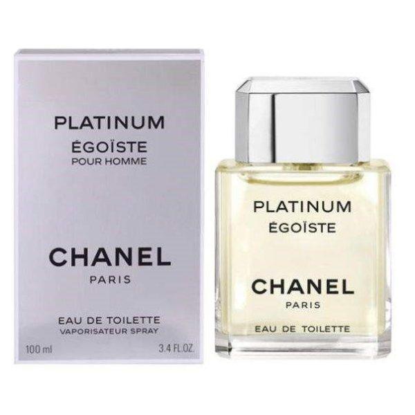 ادو تویلت مردانه شانل مدل Egoiste Platinum حجم 100 میلی لیتر
