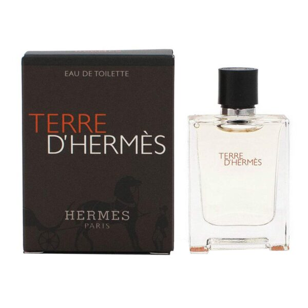 عطر جیبی مردانه هرمس مدل Terre dHermes Eau de Toilette حجم 5 میلی لیتر