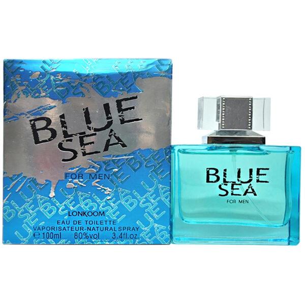 ادو تویلت مردانه لنکوم مدل BLUE SEA حجم 100 میلی لیتر
