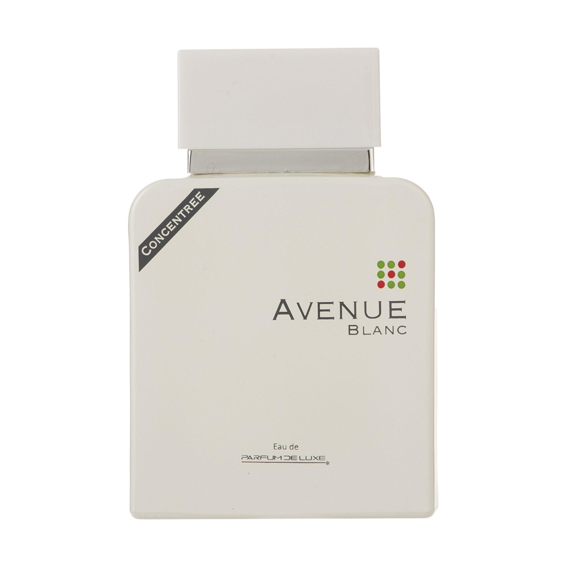 ادو پرفیوم مردانه پرفیوم دلوکس مدل Avenue blanc حجم 100 میلی لیتر