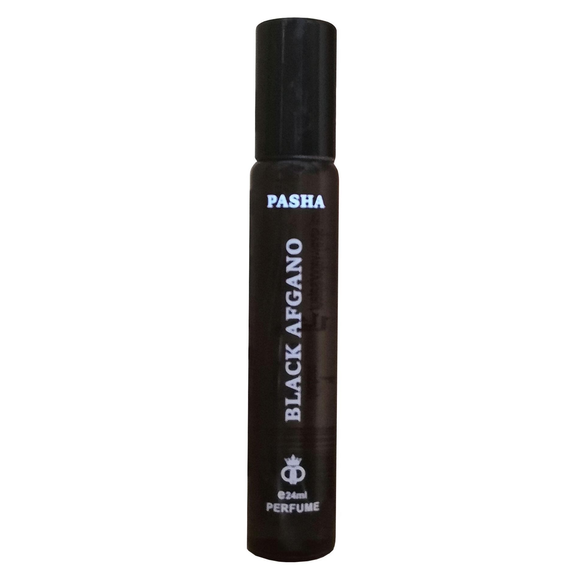 عطر جیبی مردانه پاشا مدل BLACK AFGHANO حجم 24 میلی لیتر