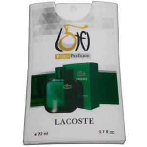 عطر جیبی زنانه روژان مدل لاگوست سبز حجم 22 میلی لیتر