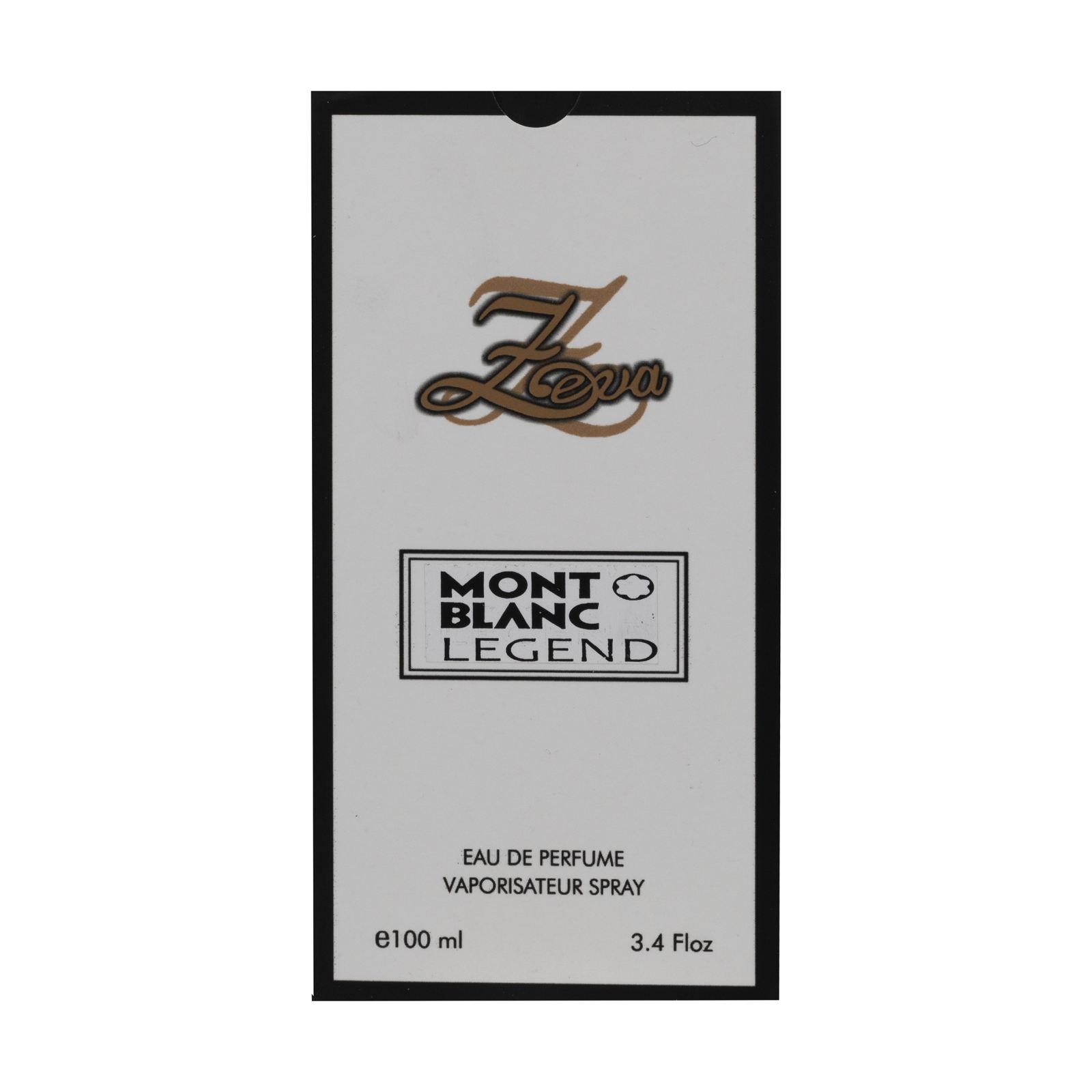 ادوپرفیوم مردانه زوا مدل Mont Blanc Legend حجم 100 میلی لیتر