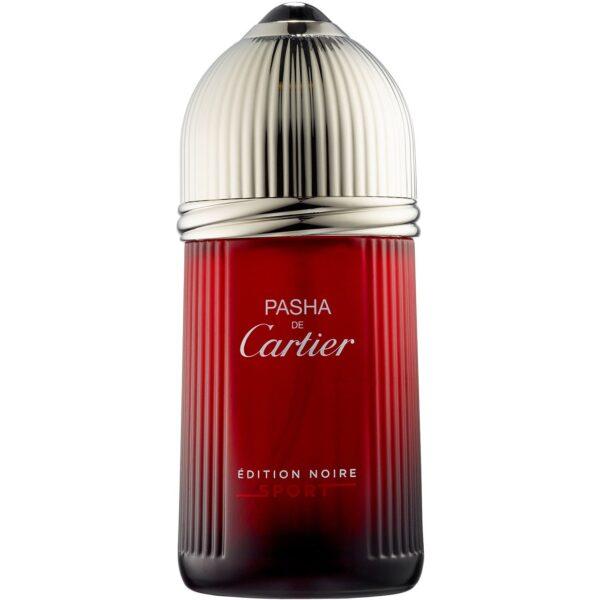 ادو تویلت مردانه کارتیه مدل Pasha de Cartier Edition Noire Sport حجم 100 میلی لیتر