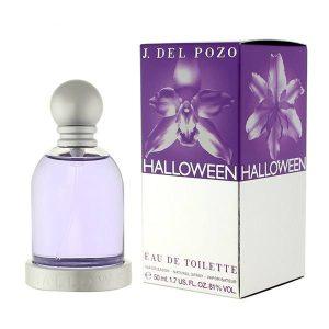 بطری ادو تویلت زنانه خسوس دل پوزو مدل Halloween بسیار ساده و درعینحال زیبا طراحی شده است.
