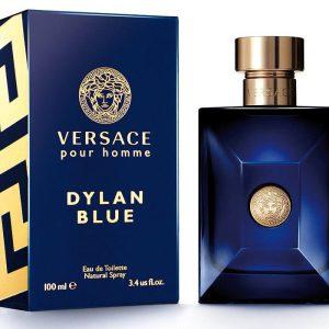 ادوتویلت مردانه ورساچه مدل Pour Homme Dylan Blue حجم 100 میلی لیتر