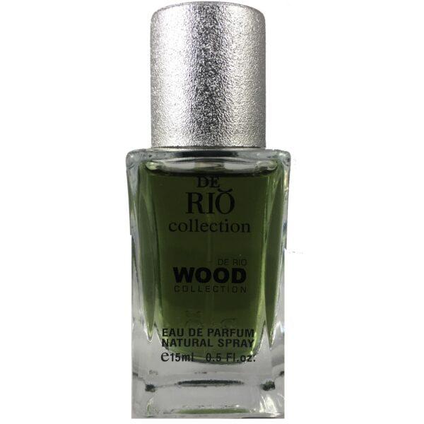 ادو پرفیوم مردانه ریو کالکشن مدل Rio Wood Brown حجم 15ml