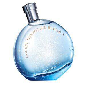 ادو تویلت زنانه هرمس مدل Eau des Merveilles Bleue حجم 50 میلی لیتر