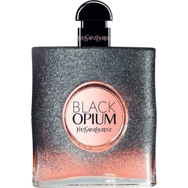 ادوپرفیوم زنانه ایو سن لوران مدل Black Opium Floral Shock حجم 90 میلیلیتر
