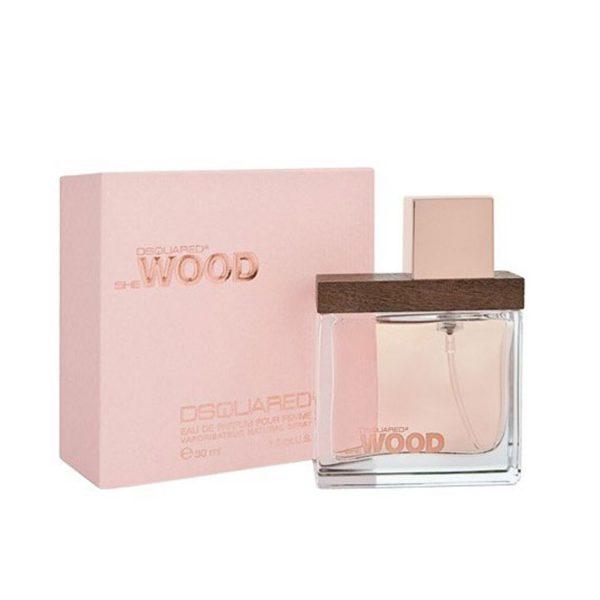 ادو پرفیوم زنانه دیسکوارد مدل She Wood حجم 100 میلی لیتر