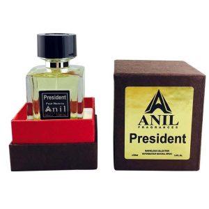 ادو پرفیوم مردانه آنیل مدل President حجم 100 میلی لیتر