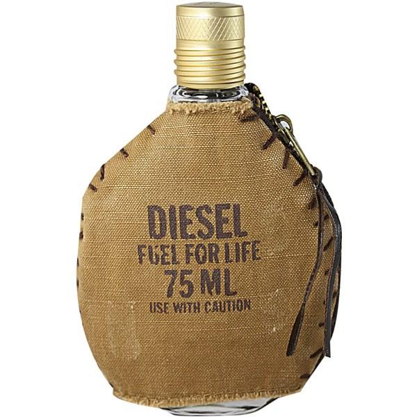 ادو تویلت مردانه دیزل مدل Fuel For Life حجم 75 میلی لیتر