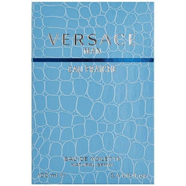 ادو تویلت مردانه ورساچه مدل Versace Man Eau Fraiche حجم 100 میلی لیتر