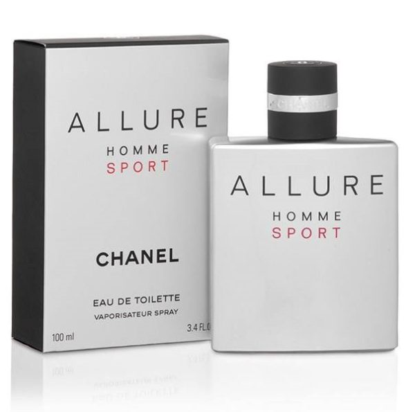 ادوتویلت مردانه شانل مدل Allure Homme Sport حجم 100 میلی لیتر
