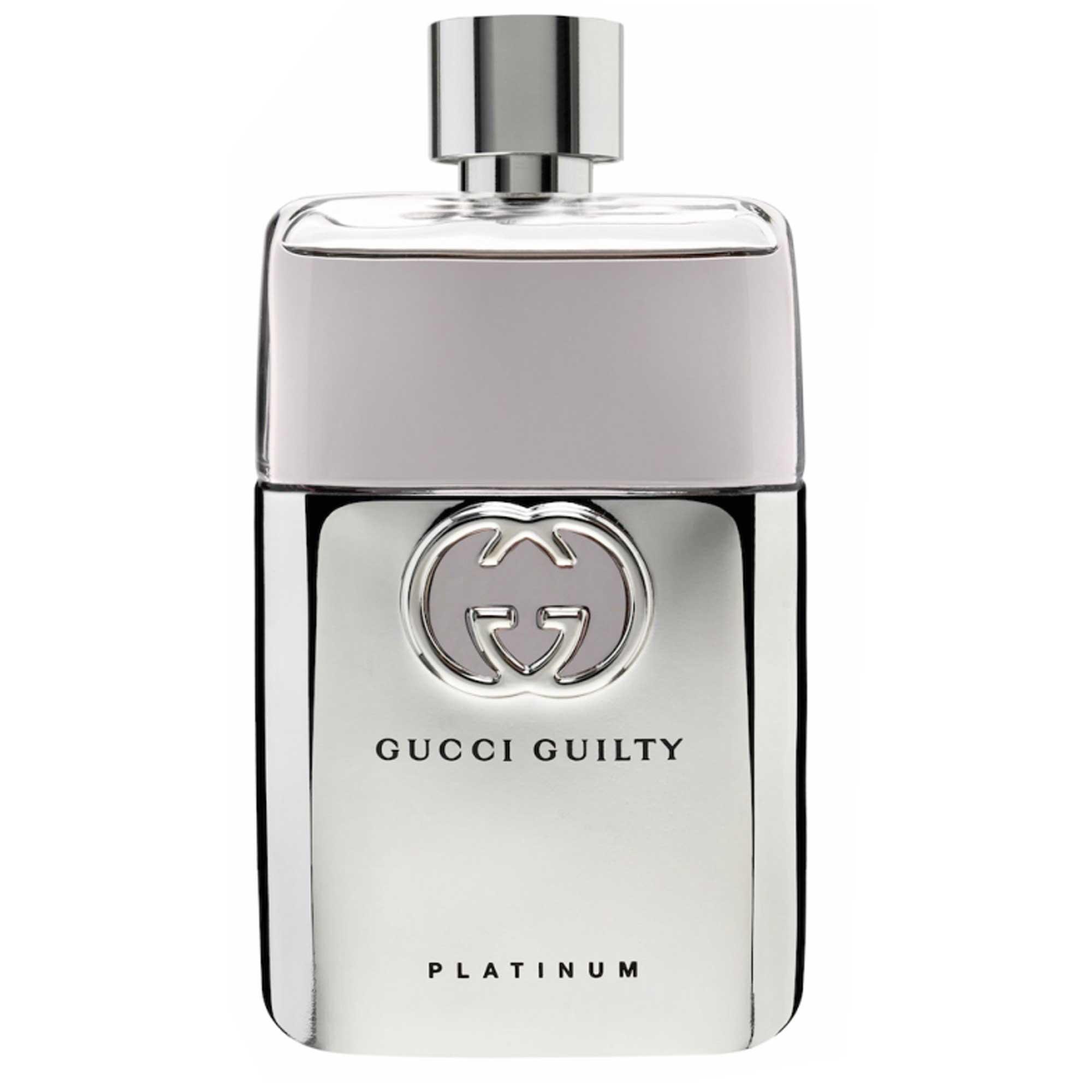 ادو تویلت مردانه گوچی مدل Guilty Platinum حجم 90 میلی لیتر