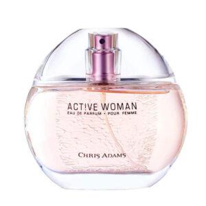 ادوپرفیوم زنانه کریس آدامز مدل Active حجم 80 میلی لیتر