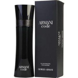ادو تویلت مردانه جورجیو آرمانی مدل Armani Code