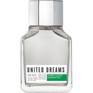 ادو تویلت مردانه بنتون مدل United Dreams Men Aim High حجم 100 میلی لیتر