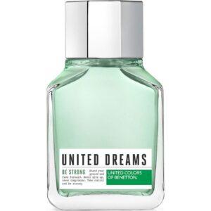 ادو تویلت مردانه بنتون مدل United Dreams Men Be Strong حجم 100 میلی لیتر