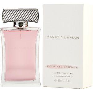 ادو تویلت زنانه دیوید یورمن مدل Delicate Essence حجم 100 میلی لیتر