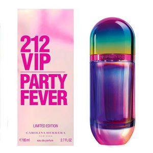 ادوتویلت زنانه کارولینا هررا مدل VIP 212 Party Fever حجم 80 میلی لیتر