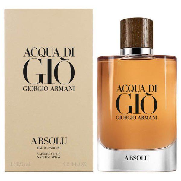 ادوپرفیوم مردانه جورجیو آرمانی مدل Acqua Di Gio Absolu حجم 100 میلی لیتر