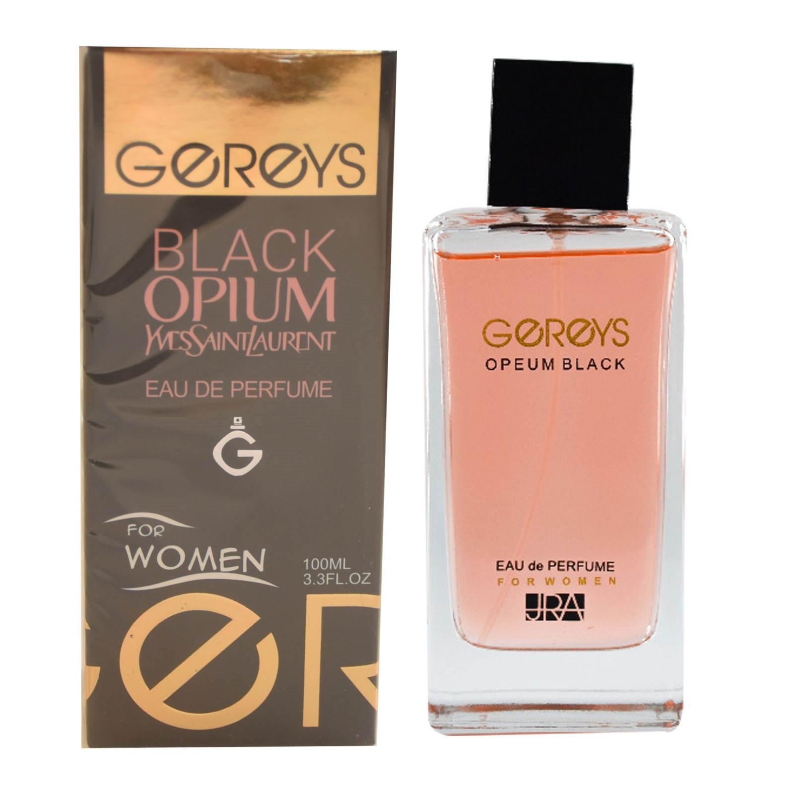 ادو پرفیوم زنانه گریس مدل Black Opium حجم 100 میلی لیتر