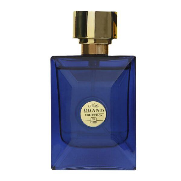 عطر جیبی مردانه نیچ برند کالکشن  مدل 170-Versace Dylan Blue حجم 25 میلی لیتر