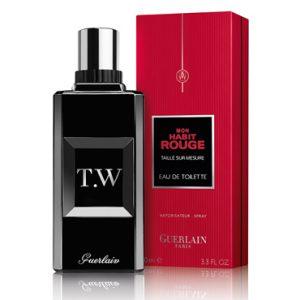 ادو تویلت مردانه گرلن مدل Mon Habit Rouge Taillé sur Mesure حجم 100 میلی لیتر