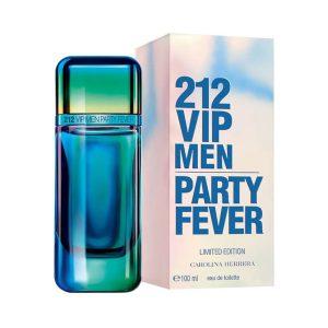 ادوتویلت مردانه کارولینا هررا مدل VIP 212 Men Party Fever حجم 100 میلی لیتر