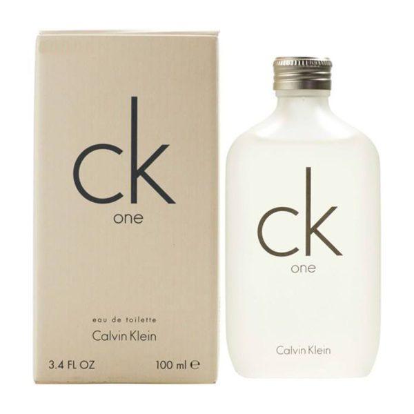 ادوتویلت مردانه کلوین کلاین مدل CK One حجم 100 میلی لیتر