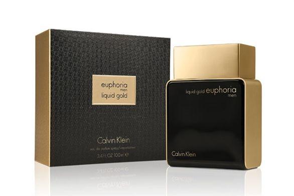 ادو پرفیوم مردانه کلوین کلاین مدل Euphoria Liquid Gold for Men حجم 100 میلی لیتر