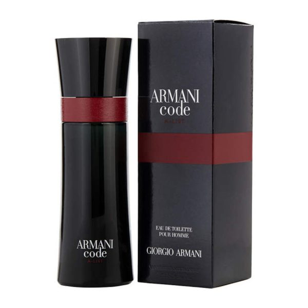 ادو تویلت مردانه جورجیو آرمانی مدل Armani Code A-List حجم 110 میلی لیتر
