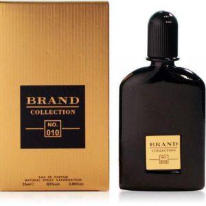 عطر جیبی مردانه نیچ برند کالکشن مدل Black Orchid-010 حجم ۲۵ میلی لیتر