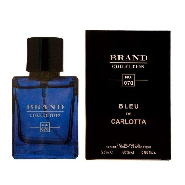 عطر جیبی مردانه نیچ برند کالکشن مدل Bleu Chanel-070 حجم 25 میلی لیتر