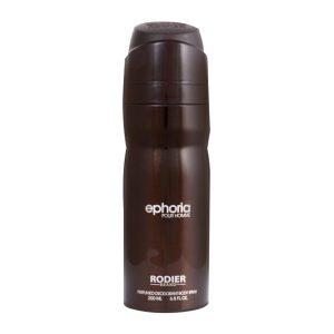 اسپری بدن مردانه رودیر مدل Ephoria حجم 200 میلی لیتر